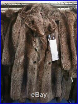 10 Mint Condition Raccoon Fur Coats Men Women All Sizes