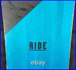 16-17 Ride Manic Used Mens Demo Snowboard Size 155cm #819579