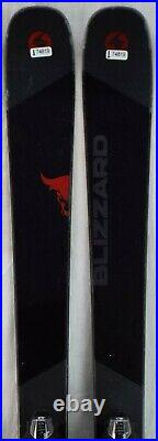 17-18 Blizzard Brahma Used Men's Demo Skis withBindings Size 173cm #174819