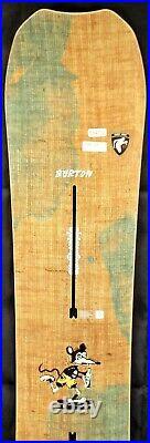 17-18 Burton Trick Pony Used Men's Demo Snowboard Size 154cm #564773