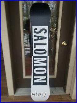18-19 Salomon Huck Knife Used Mens Snowboard Size 152cm