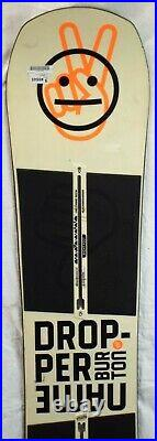 19-20 Burton Name Dropper Used Men's Demo Snowboard Size 151cm #346645