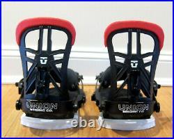19/20 Union Contact Pro Snowboard Bindings GIGI RUF falcor Black force M strata