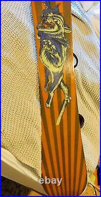 1995 Burton Terje Haakonsen Design Flyweight The 152 Snowboard Vermont WOW