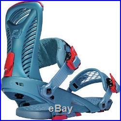 2016 NIB MENS RIDE CAPO SNOWBOARD BINDINGS $280 XL slate blue all mountain
