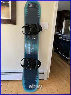 2017 Burton Process Flying-V 157W Snowboard With Burton Cartel EST Bindings
