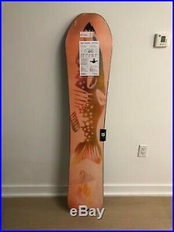 2018 Burton Deep Thinker Men's Snowboard Size 157