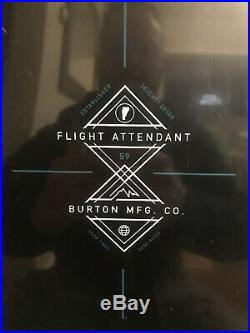 2018 Burton Flight Attendant 159cm snowboard