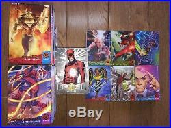 2018 Fleer Ultra X-Men 258 Card Master Set 150 Base Set + All 7 Inserts NM-Mint