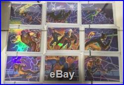 2018 Fleer Ultra X-Men Master Set 150 Base Set + All 7 Inserts NM-Mint 258 Cards