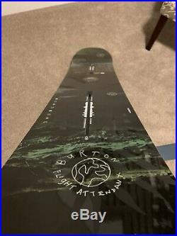2019 Burton Flight Attendant All Mountain Men's Snowboard- Size 159