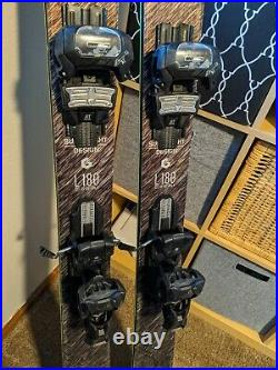 2019 Head KORE 93 180cm Ski W Tyrolia Attack 13 Adjustable Bindings