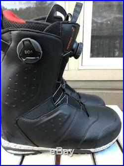 2019 Salomon Synapse Focus Boa snowboard boots 9.5 mens All Mountain MSRP $349