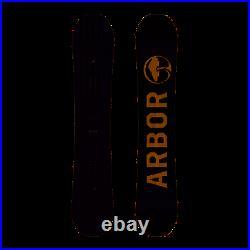 2020 Arbor Foundation Snowboard Deck 155cm
