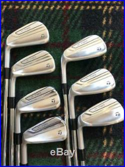 2020 LH The All New TaylorMade P790 Irons 1° UP 4-PW KBS $-Taper 120 STIFF MINT