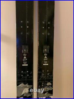 50th Anniv K2 Sidestash Rolling Stones Skis Lmt Ed 181cm