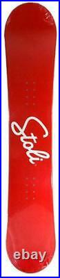 $600 154cm Stoli Stolichnaya Vodka Red Rare Snowboard +burton decal rnin532