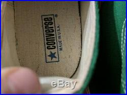 '70's Converse All Star Chuck Taylor Low Top USA Size 17 Sneakers NEWith MINT