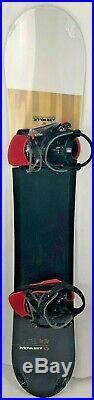 Airwalk 161 Snowboard With Airwalk Large Bindings - Brand New
