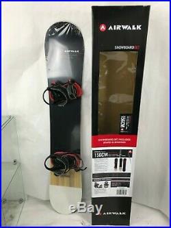 Airwalk Snowboard Package 156 Board And Medium Bindings- Brand New
