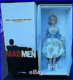 All 4 Mad Men Silkstone Gold Label Dollsbetty, Joan, Roger & Don Mint Nrfb 2010