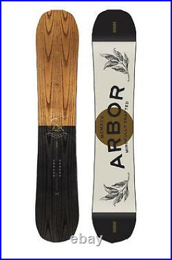 Arbor Element Camber Snowboard With Arbor Hemlock Bindings