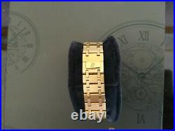 Audemars Piguet Royal Oak Day Date Moon Phase Ivory Dial 25594BA ALL Gold MINT