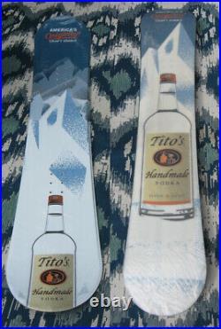 Brand New Cellophane'19 Tito's Vodka ADV Snowboard Austin Texas 155cm Snowboard