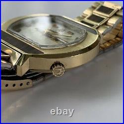 Bulova Accutron Woody Jumbo 40mm RARE N3 Mint All Original 218 Men's Watch