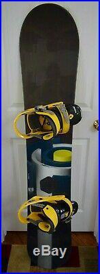 Burton Bullet 59 Snowboard Size 159 CM With Burton Large Binding