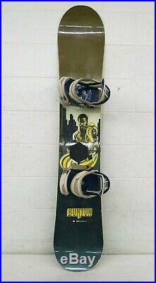 Burton Custom 156cm Twin-Tip All-Mountain Snowboard withFreestyle Bindings SHAFT