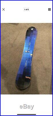 Burton Custom Flying V All Mountain Men's Snowboard, W19-106881 Size 158