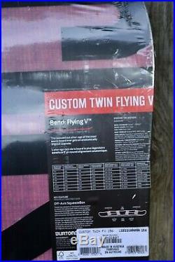 Burton Custom Twin Flying V Men's 156cm Snowboard 2015 NEW IN PLASTIC