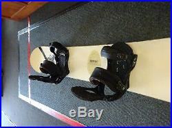 Burton Custom X Snowboard with Burton Bindings Men's 160cm (F)