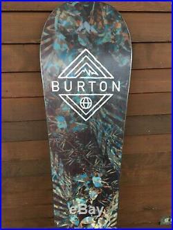 Burton Flight Attendant 159cm $580 Retail All Mountain Freestyle 2018 Release
