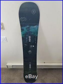 Burton Flight Attendant All Mountain Men's Snowboard, Size 159W. 2018/2019 $350