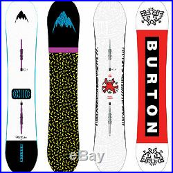Burton Free Thinker Men's Snowboard all Mountain Freestyle Haring 2019-2020 New