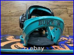 Burton Mens Snowboard Whammy Bar 155 with Burton Custom Bindings