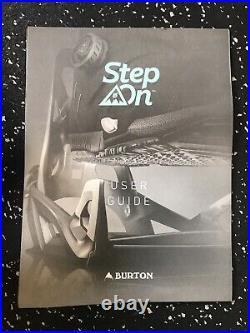 Burton Mine 77 Step On EST Bindings Mens Medium