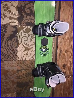 Burton Snowboard & Boots! 55 Hardly ever used