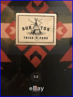 Burton Trick Pony All Mountain Men's Snowboard Size 158