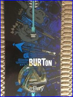Burton Two Pro men's Snowboard 156cm Pro Model CARBON VAPORSKIN