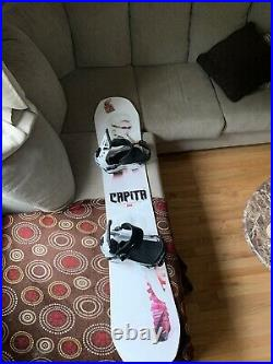 CAPiTA DOA (Defenders of Awesome) 158W Snowboard with Union Flite Pro Bindings