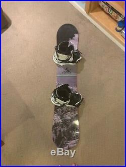 Camp Seven Snowboard Valdez 158 Cm Complete Board, Bindings, Boots Size 10
