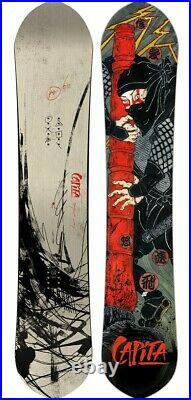 Capita Snowboards Kazu Kokubo Pro Men's Snowboard 160 cm New 2021