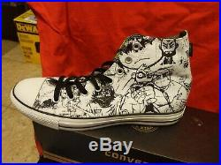 Converse All Stars Gorillaz Hi-Top Sneakers Size 9 Mens 11 Women NEW IN BOX MINT