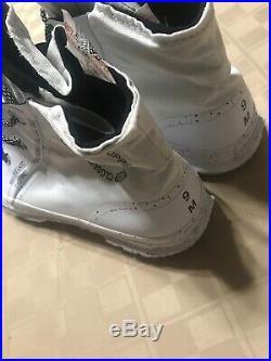 Converse Chuck Taylor All Star Mountain MC18 GoreTex White Men Size 9 Sample