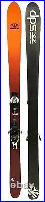 DPS Wailer F99 Skis 184 & Atomic Warden 13 Bindings Mens Orange Alpine Light Use