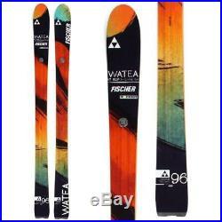 Fischer Watea 96 Men's Skis 178cm Expert, Freeeride, All-Mountain NEW 2014