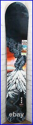 GNU Billy Goat Men's Snowboard Size 159 cm, Directional, Orange Base, New 2021